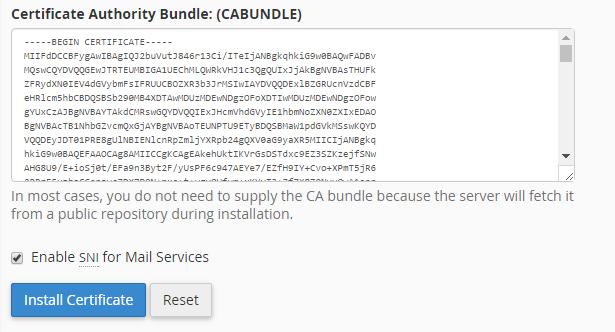 ssl install